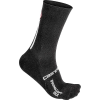 Castelli Men's Primaloft 15 Sock - XXL - Black