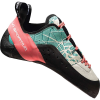 La Sportiva Women's Kataki Climbing Shoe - 38.5 - Mint / Coral
