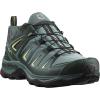 Salomon Women's X Ultra 3 GTX Shoe - 6.5 Wide - Artic / Darkest Spruce / Sunny Lime