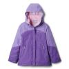 Columbia Youth Girls Bugaboo II Fleece Interchange Jacket - XS - Grape Gum/Paisley Purple