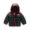 The North Face Infant Reversible Mount Chimborazo Hoodie - 12M - TNF Red Mini Buff Check Print