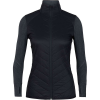 Icebreaker Women's Descender Hybrid Jacket - XS - Black / Jet Heather