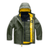 The North Face Boys' Fresh Tracks Triclimate Jacket - XL - New Taupe Green