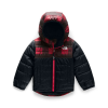 The North Face Toddler's Boys Reversible Mount Chimborazo Hoodie - 3T - TNF Red Mini Buff Check Print