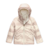 The North Face Toddler's Girls Reversible Perrito Jacket - 3T - Vintage White Mini Buff Check Print