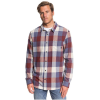 Quiksilver Men's Motherfly Flannel - Small - Nightshadow Motherfly
