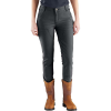 Carhartt Women's Crawford Double Front Slim Fit Pant - 12 Regular - Shadow