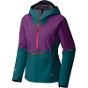 Mountain Hardwear Women's Exposure/2 GTX Paclite Stretch Pullover - Large - Dive