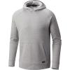 Mountain Hardwear Men's Firetower Long Sleeve Hoodie - XXL - Grey Ice