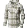 Mountain Hardwear Women's Acadia Stretch Hooded LS Shirt - Small - Cotton 105