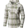 Mountain Hardwear Women's Acadia Stretch Hooded LS Shirt - XL - Cotton 105