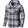 Mountain Hardwear Women's Acadia Stretch Hooded LS Shirt - Medium - Arctic Circle Blue