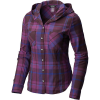Mountain Hardwear Women's Acadia Stretch Hooded LS Shirt - Medium - Dark Tannin