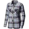 Mountain Hardwear Women's Acadia Stretch LS Shirt - Small - Arctic Circle Blue