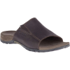 Merrell Men's Sandspur Leather Slide - 9 - Brown