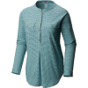 Mountain Hardwear Women's Karsee LS Pullover Top - Medium - Washed Out Blue