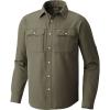 Mountain Hardwear Men's Canyon LS Shirt - XXL - Surplus Green