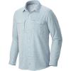 Mountain Hardwear Men's Canyon LS Shirt - Large - Phoenix Blue
