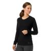 Smartwool Women's Merino 150 Baselayer LS Top - XL - Black