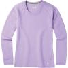 Smartwool Women's Merino 150 Baselayer LS Top - Large - Cascade Purple Pattern