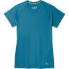 Smartwool Women's Merino 150 Baselayer SS Top - XL - Light Marlin Blue