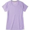 Smartwool Women's Merino 150 Baselayer SS Top - Small - Cascade Purple Pattern