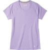 Smartwool Women's Merino 150 Baselayer SS Top - Medium - Cascade Purple Pattern
