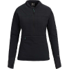 Burton Women's [ak] New Helium 1/4 Zip Jacket - Large - True Black