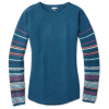 Smartwool Women's Shadow Pine Crew Sweater - Large - Deep Marlin Heather