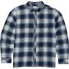 Billabong Men's Coastline Long Sleeve Shirt - Medium - Blue