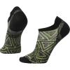 Smartwool PhD Run Ultra Light Print Micro Sock - XL - Black