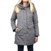 Obermeyer Women's Sojourner Down Jacket - 10 Petite - Charcoal