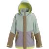 Burton Women's Loyle Parka - Small - Aqua Grey / Lilac Grey / Timber Wolf / Sunny Lime