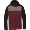Smartwool Men's Merino 250 Color Block Hoodie - Medium - Bourbon Tick Stitch