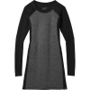 Smartwool Women's Diamond Peak Quilted Dress - XS - Black Heather