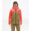 The North Face Women's Purist FUTURELIGHT Jacket - Large - Radiant Orange / British Khaki