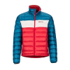 Marmot Men's Ares Jacket - XXL - Team Red / Moroccan Blue