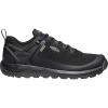 Keen Men's Citizen Evo Waterproof Shoe - 7.5 - Triple Black / Black