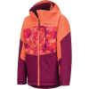 Marmot Girls' Elise Jacket - Medium - Purple Berry / Nasturtium