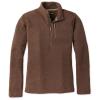 Smartwool Men's Hudson Trail Fleece Half Zip Sweater - XXL - Bourbon Heather