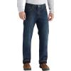 Carhartt Men's Relaxed-Fit Holter Fleece Lined Jean - 30x30 - Blue Ridge