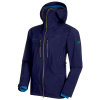 Mammut Men's Alvier HS Hooded Jacket - Small - Peacoat