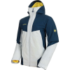 Mammut Men's Casanna HS Thermo Hooded Jacket - Large - Highway / Peacoat