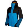 Mammut Men's Casanna HS Thermo Hooded Jacket - Medium - Sapphire / Wing Teal / Black