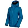 Mammut Women's Convey 3 In 1 HS Hooded Jacket - Medium - Sapphire / Deer