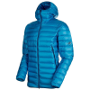 Mammut Men's Broad Peak Pro IN Hooded Jacket - Small - Sapphire
