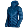 Mammut Women's Broad Peak IN Hooded Jacket - XL - Wing Teal / Sapphire