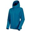 Mammut Women's Macun Softshell Hooded Jacket - XS - Sapphire