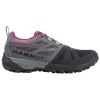 Mammut Women's Saentis Low GTX Shoe - 6.5 - Black / Titanium