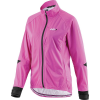 Louis Garneau Women's Commit Waterproof Jacket - Medium - Pink Glow